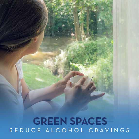 Green Spaces for Alcohol Cravings